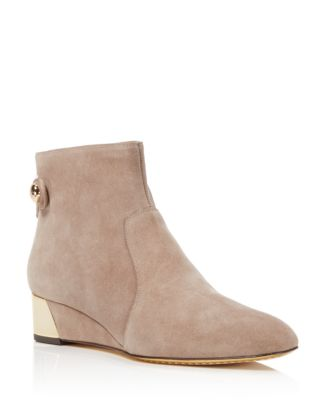 18f0527e74f Tory Burch Marisa Suede Wedge Booties