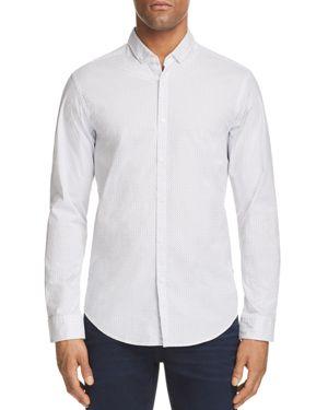 Boss Green C Bilia Micro Dot Slim Fit Button-Down Shirt