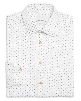 Paul Smith - Airplane Print Slim Fit Dress Shirt