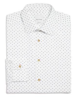 Paul Smith Airplane Print Slim Fit Dress Shirt Bloomingdale S