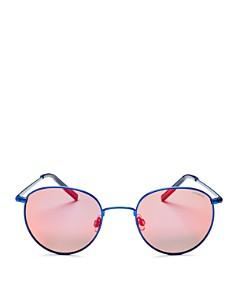 Polaroid Men's Polarized Round Sunglasses, 51mm - Bloomingdale's_0