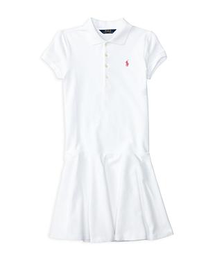 Ralph Lauren Childrenswear Girls Mesh Polo Shirt Dress  Big Kid