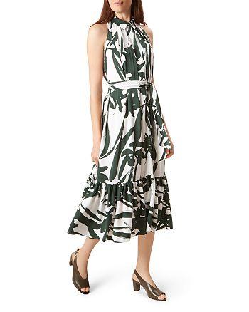 HOBBS LONDON - Maida Shirred-Hem Dress