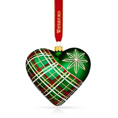 Waterford Nostalgic Plaid Heart Ornament - Bloomingdale's_0