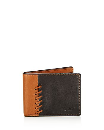 COACH - Boxed Rip and Repair Billfold Wallet