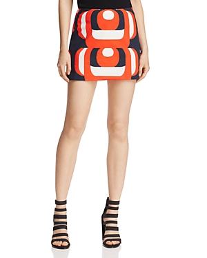 Milly Amphora Mini Skirt