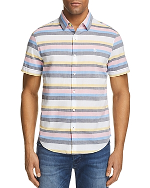 Original Penguin Lawn-Stripe Regular Fit Button-Down Shirt