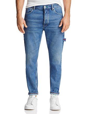 61b50646 Tommy Hilfiger Tapered Fit Carpenter Jeans in Dark Wash | Bloomingdale's