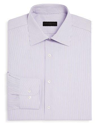 Ike Behar - Dobby Stripe Regular Fit Dress Shirt