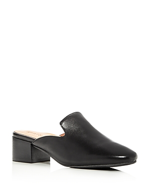 Gentle Souls Eida Leather Block Heel Mules