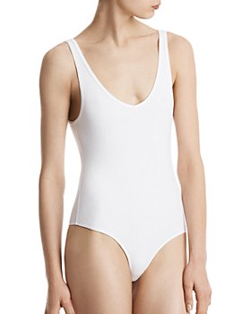 ATM Anthony Thomas Melillo - V-Neck Tank Bodysuit