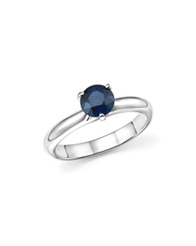 Roberto Coin - Platinum Prong Set Sapphire Ring