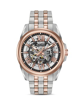 Bulova - Automatic Skeleton Watch, 43mm
