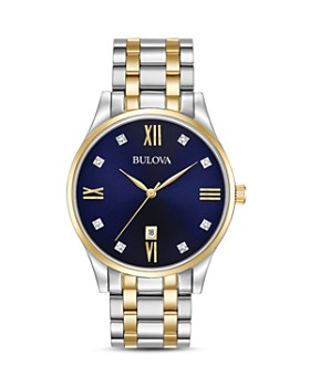 Bulova - Two-Tone Diamonds Watch, 40mm