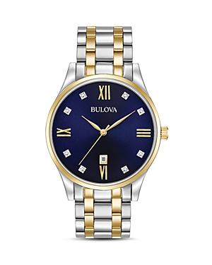 Two-Tone Diamonds Watch