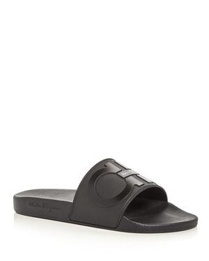 Salvatore Ferragamo Men's Slide Sandals - 100% Exclusive