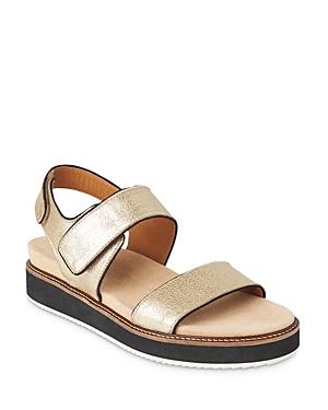 Whistles Keller Metallic Ankle Strap Sandals