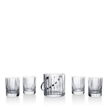 Baccarat - Harmonie 5-Piece Rocks Glass and Ice Bucket Set