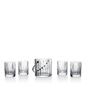 Baccarat Harmonie 5-Piece Rocks Glass and Ice Bucket Set