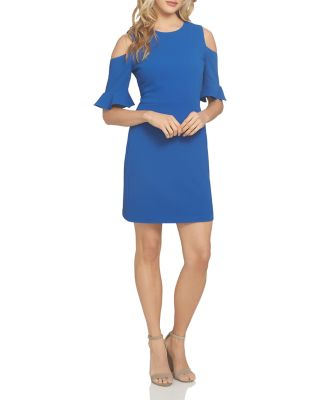 CECE BY CYNTHIA STEFFE EMILY COLD-SHOULDER DRESS