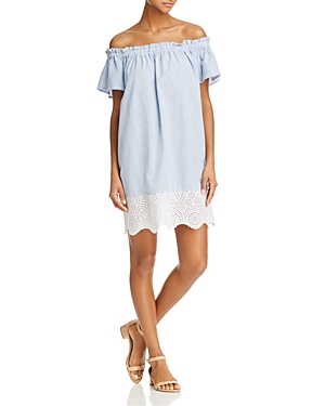 French Connection Belle Off-the-Shoulder Dress