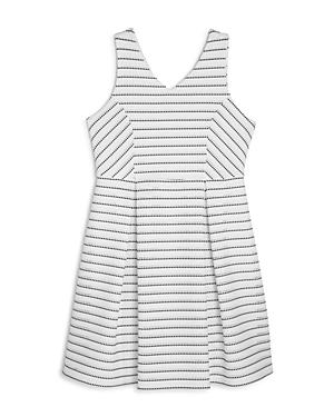 Aqua Girls' Sleeveless Textured Knit Dress, Big Kid - 100% Exclusive