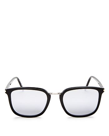 Saint Laurent - Men's Classic Mirrored Square Sunglasses, 52mm