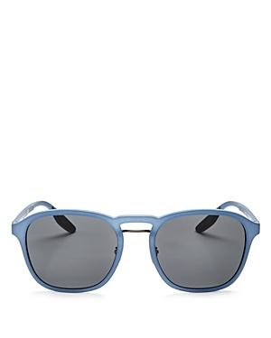Prada Brow Bar Round Sunglasses, 53mm