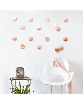Umbra - Copper Confetti Dots, Set of 16