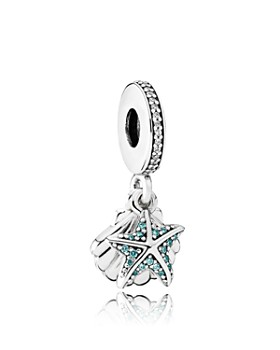 Pandora - Sterling Silver & Cubic Zirconia Tropical Sunset Charm
