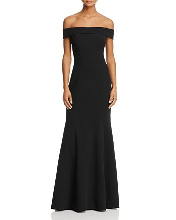 Avery G - Off-the-Shoulder Gown