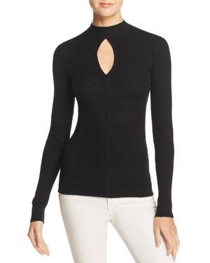Frame Keyhole Mock Neck Sweater 100% Exclusive