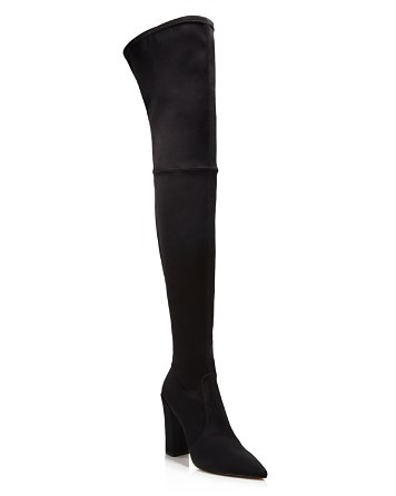 $Dolce Vita Women's Ellis Satin Over-the-Knee Boots - 100% Exclusive - Bloomingdale's