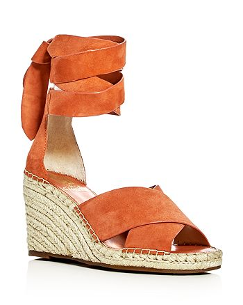 4d6f84b1ee3 VINCE CAMUTO - Women s Leddy Ankle Wrap Espadrille Wedge Sandals