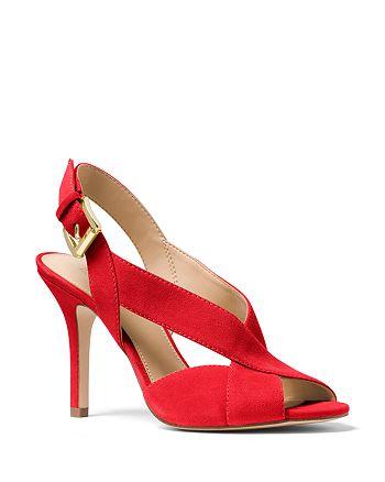5ac1e08108f MICHAEL Michael Kors - Women s Becky Crisscross Slingback Sandals