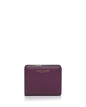 marc jacobs female marc jacobs gotham compact mini leather wallet