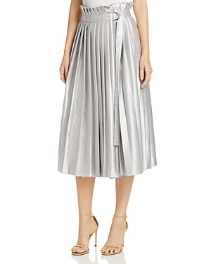 Karen Millen Metallic Wrap Skirt - 100% Exclusive