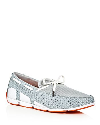Swims - Breeze Braided Lace Mesh Loafers