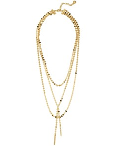 BAUBLEBAR - Amber Lariat Necklace, 18""
