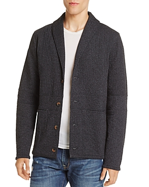 Billy Reid Knit Shawl Collar Cardigan