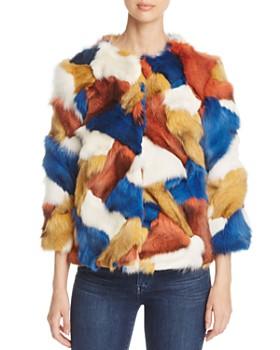 Maximilian Furs - Fox Fur Patchwork Jacket - 100% Exclusive