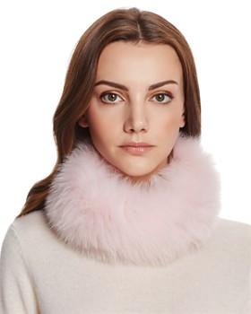 Maximilian Furs - Fox Fur Knit Headband