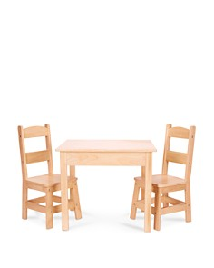 Melissa & Doug Wooden Table and Chairs Set - Ages 3-8 - Bloomingdale's_0