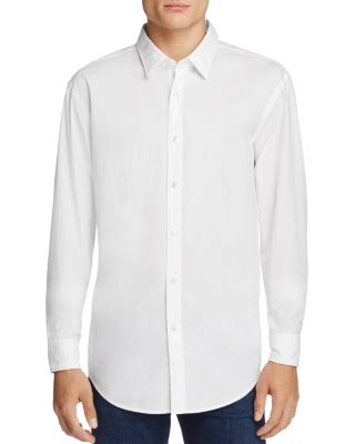 BOSS HUGO BOSS Ronni Slim Fit Button-Down Shirt in White