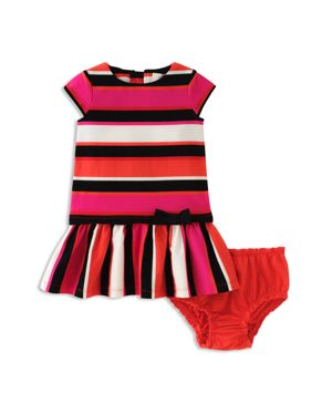 kate spade new york Girls' Drop-Waist Dress & Bloomers Set - Baby