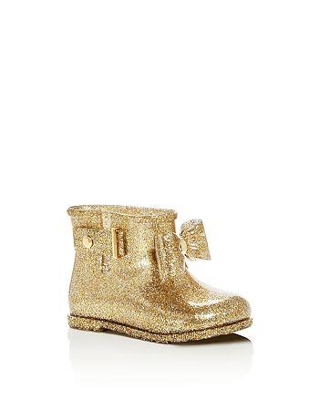 Mini Melissa - Girls' Sugar Rainbow Rain Boots - Toddler