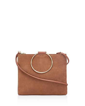 Thacker - Le Pouch Suede and Leather Clutch