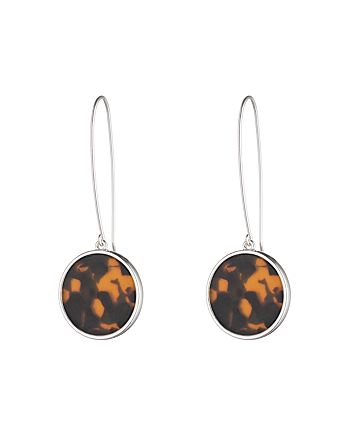 Ralph Lauren - Round Tortoise Drop Earrings