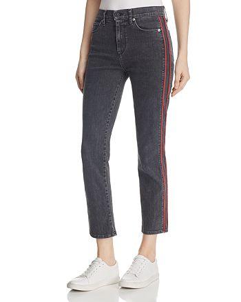 Hudson - Zoeey Crop Straight Leg Jeans in Hone