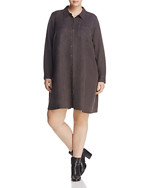 Eileen Fisher Plus A-Line Shirt Dress